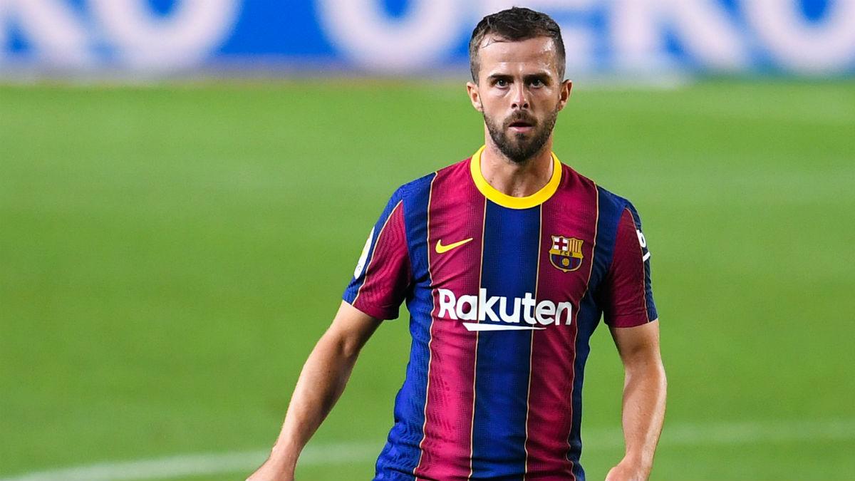 Miralem Pjanic, en el encuentro ante el Villarreal. (Getty)