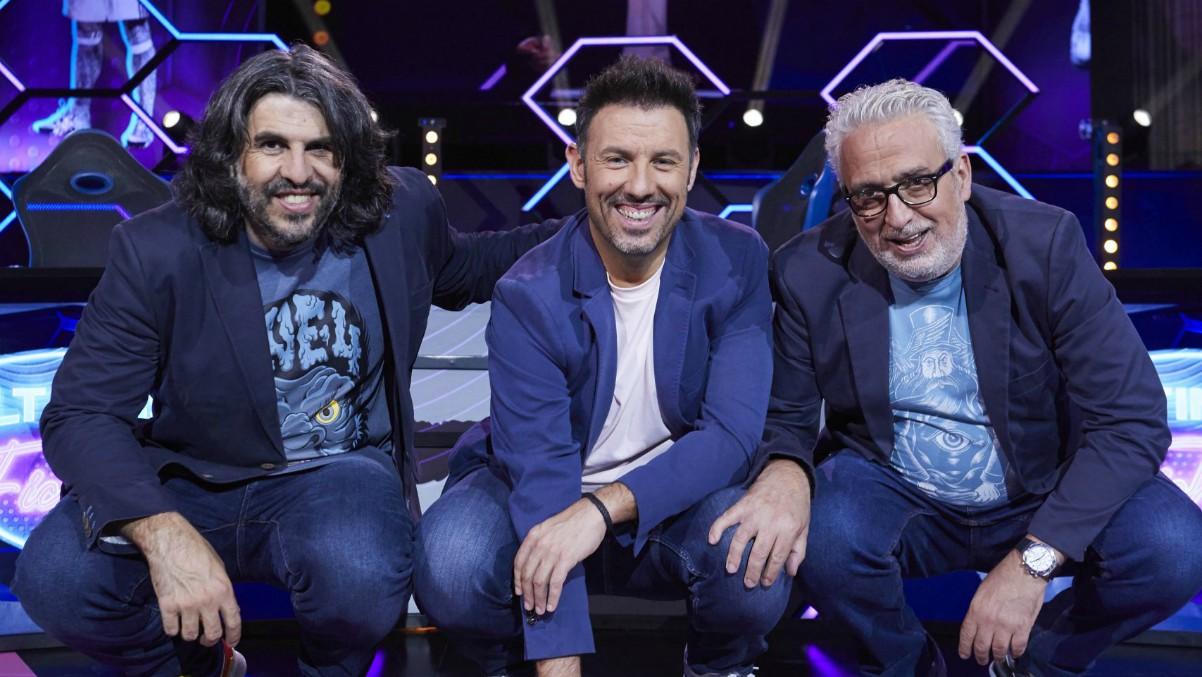 Leo Harlem, J.J Vaquero e Iñaki Urrutia son los presentadores de 'Últimos fichajes'.