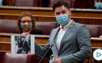 Rufián monta la bronca en el Congreso al acusar al Rey de ser «el diputado 53 de Vox»