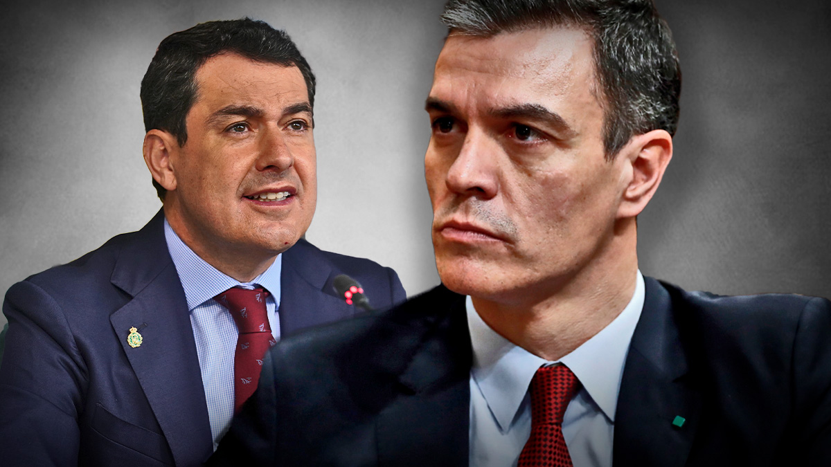 Juanma Moreno y Pedro Sánchez.