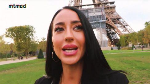 Aurah Ruiz, en París.