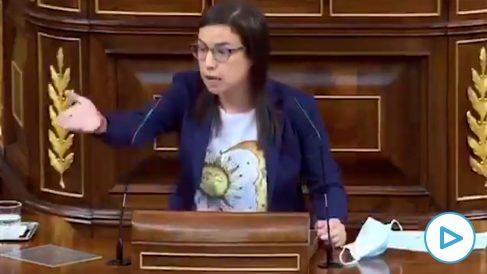 El espectacular minuto de una diputada del PP recordando a PSOE y Podemos todos sus casos de corrupción