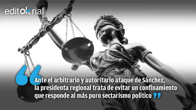 Ayuso recurre a la Justicia en defensa de Madrid y los madrileños
