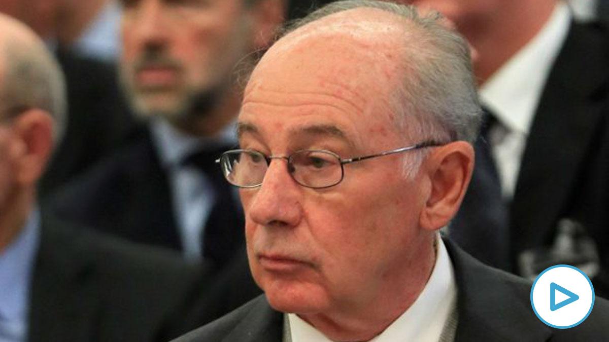 Rodrigo Rato, durante el juicio a Bankia.