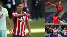 Grupo Champions League Atlético de Madrid. (Getty)