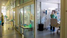 Área COVID de un hospital madrileño (Foto: EFE).