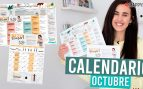 Gym virtual calendario octubre Patry Jordán