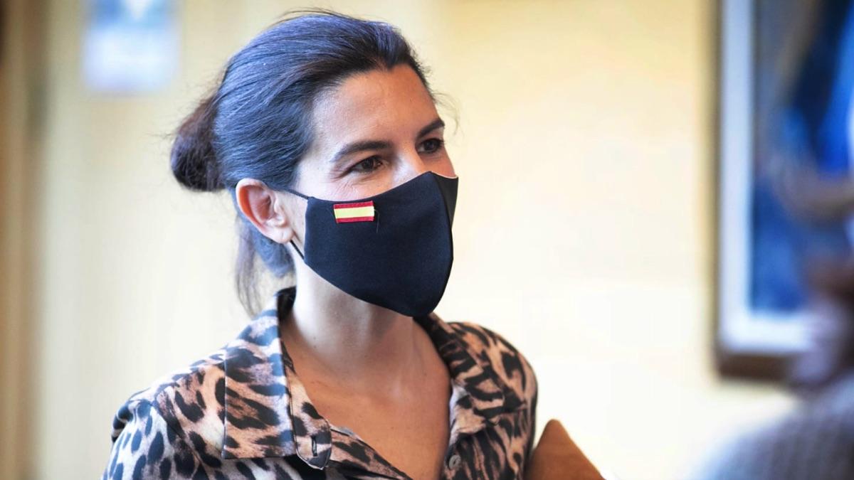 Rocío Monasterio en la Asamblea de Madrid. (Foto: Vox)
