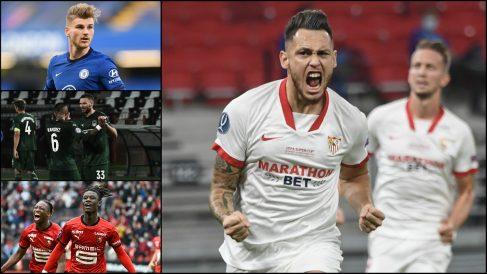 Grupo Champions League Sevilla.