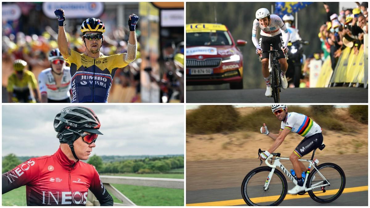 Los grandes ausentes del Giro de Italia 2020.