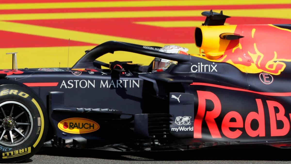 El Red Bull de Max Verstappen. (AFP