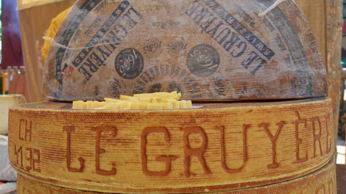 Tipos de quesos, el gruyére