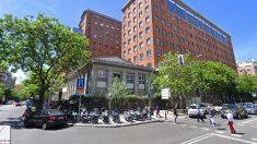 Fachada del Hospital de La Princesa.