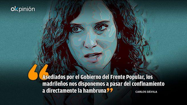"""Asedio y montería contra la """"muñequita"""" Ayuso"""