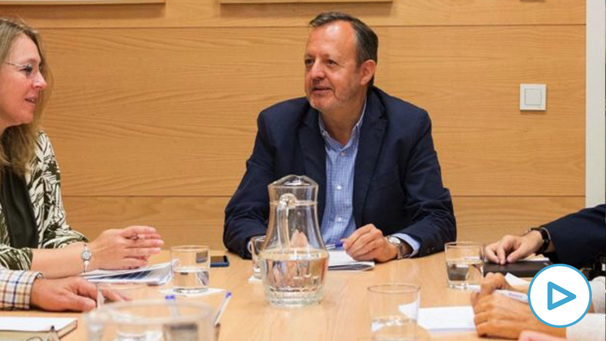 El consejero de Políticas Sociales, Familias, Igualdad y Natalidad, Alberto Reyero. (Foto: Comununidad)