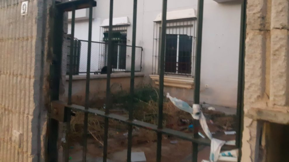 Casa okupa en Umbrete, Sevilla.