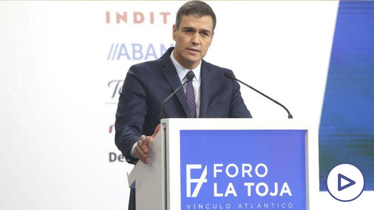 Pedro Sánchez, presidente del Gobierno, en el Foro de La Toja del año pasado. (Foto: Europa Press)