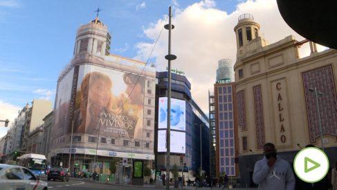 La Covid y las nuevas restricciones le pasan factura a la Gran Vía de Madrid