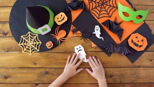 10 manualidades de Halloween fáciles para niños pequeños
