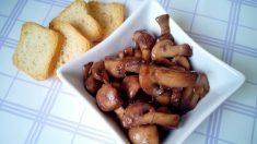 Champiñones a la mantequilla (2)