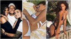 Cindy Bruna, en fotos de Instagram.