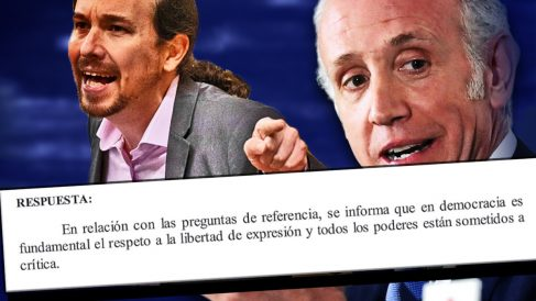 El Gobierno respalda los insultos de Pablo Iglesias a Eduardo Inda y OKDIARIO