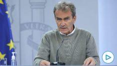El director del Centro de Coordinación de Alertas y Emergencias Sanitarias -CCAES- Fernando Simón. (Foto- Europa Press)