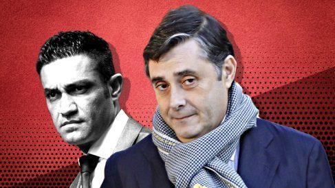 Javier Vasallo y Sergio Ríos.