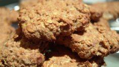Receta de galletas integrales que no engordan
