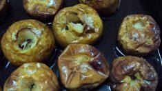 Receta fácil de peras asadas en el microondas