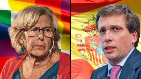 Manuela Carmena y José Luis Martínez-Almeida.
