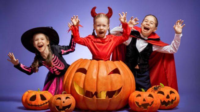 explicar halloween niños