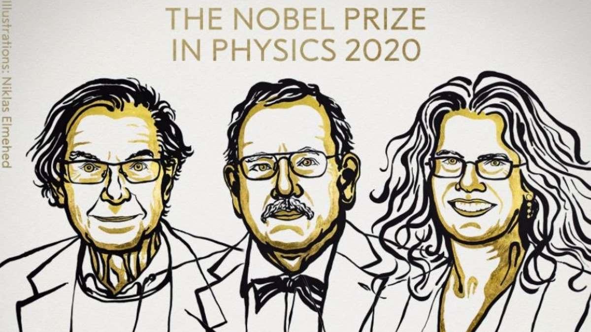 Ganadores del Nobel de Física 2020