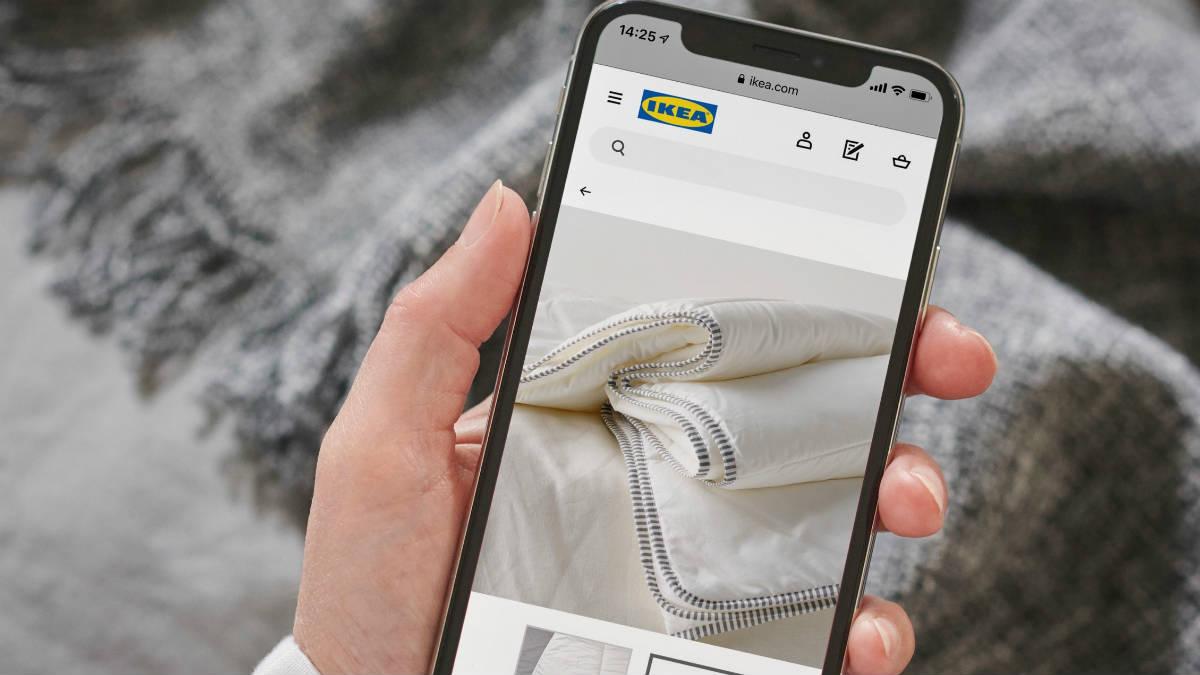 Imagen de Ikea a través del móvil