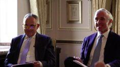Los periodistas Manuel Cerdán y Eduardo Inda firman la primera entrevista de Corinna ante las cámaras.