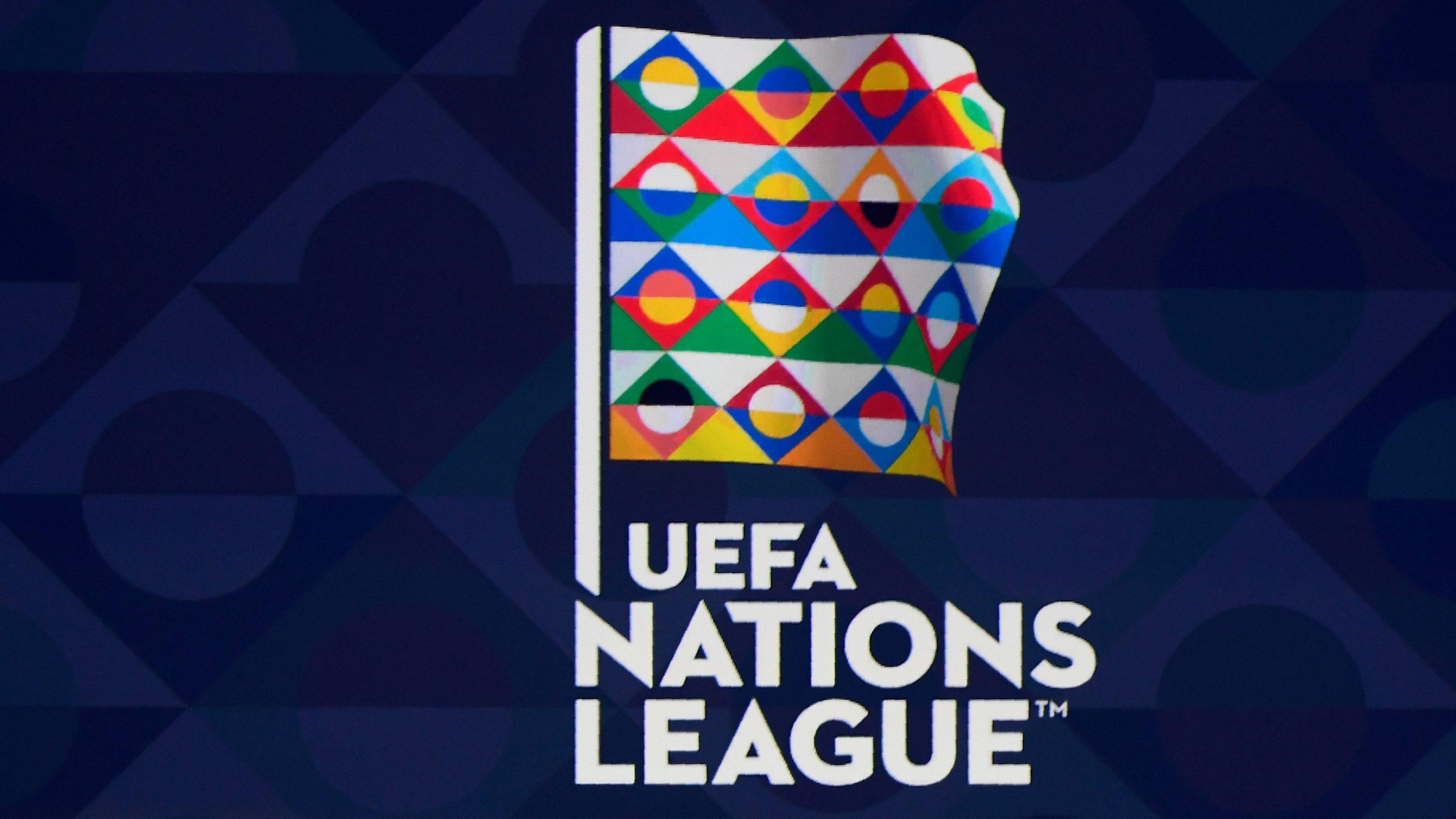 Partidos de la Liga de Naciones.