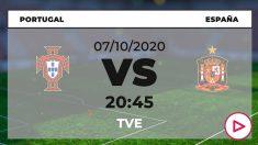 Portugal – España: horario y dónde ver el partido amistoso por TV online en directo hoy.