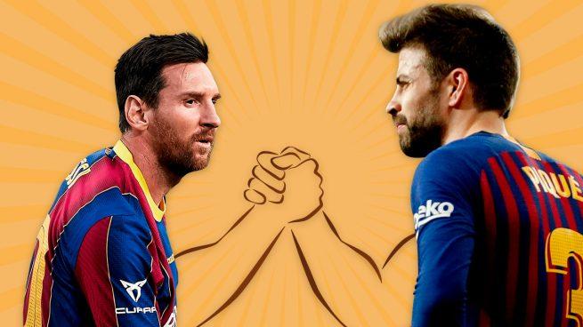 ¿Con quién va el vestuario del Barcelona en el pulso Messi-Piqué?
