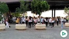 Macrobotellón en Sevilla