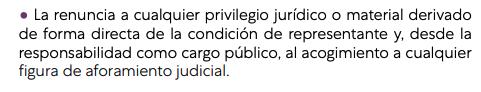 Iglesias se aferra al aforamiento que prometió cargarse en su programa por ser «un privilegio judicial»