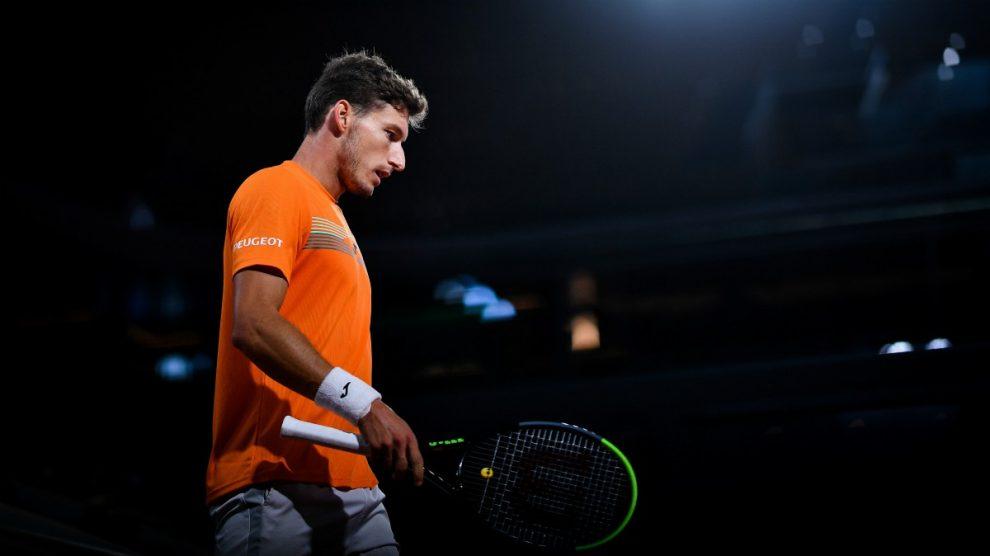 Carreño cayó contra Djokovic en cuartos de Roland Garros. (AFP)