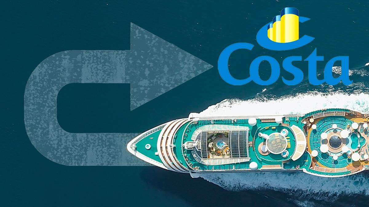 Costa Cruceros retrasa su vuelta a España hasta julio por el cerrojazo que el Gobierno de Pedro Sánchez mantiene a los puertos españoles.