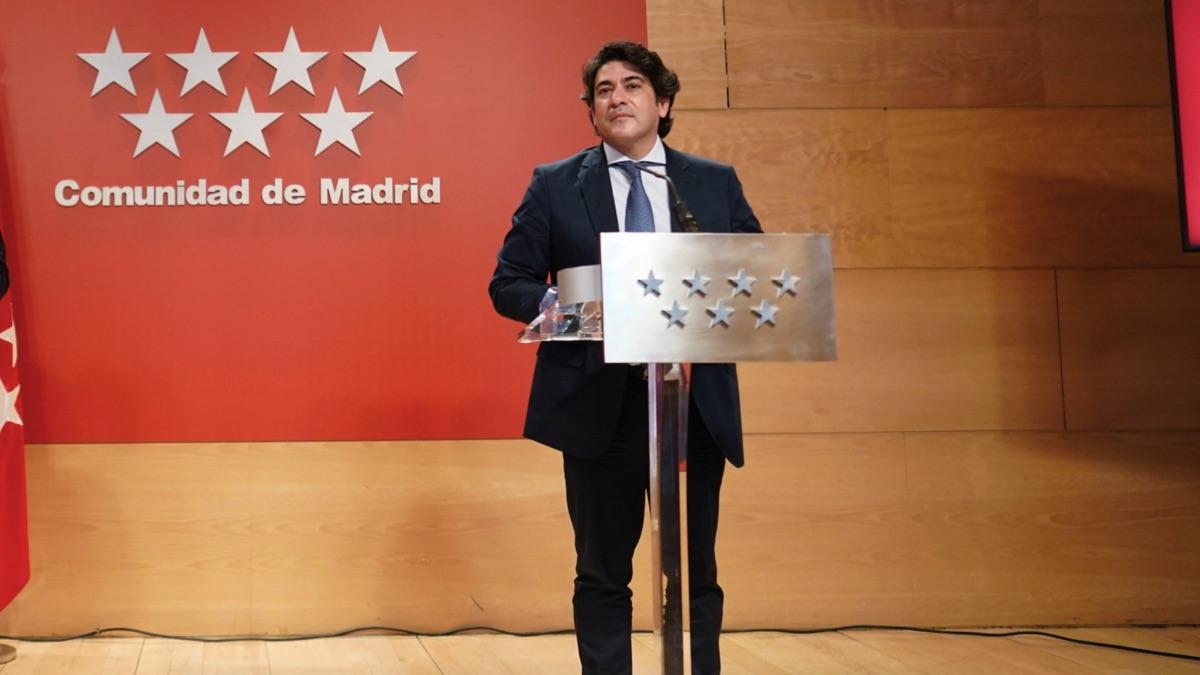 David Pérez, consejero de Vivienda.