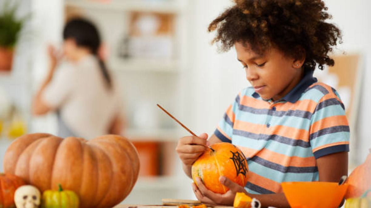 Las mejores ideas para decorar calabazas con los niños