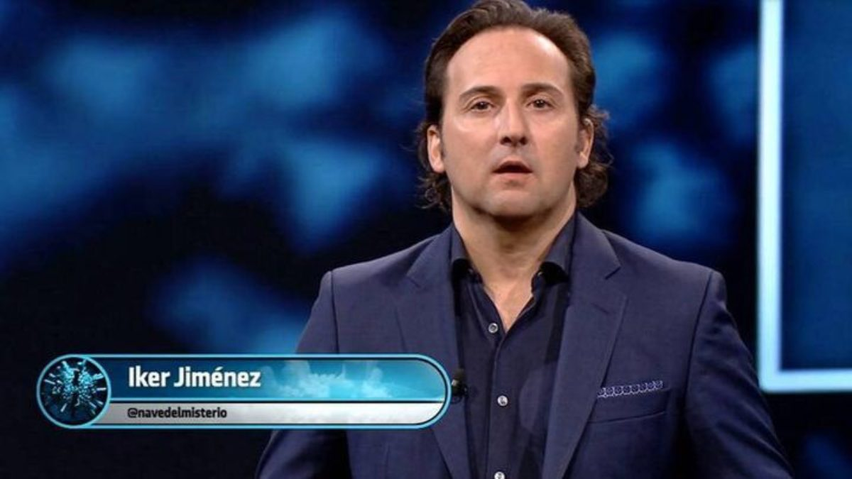 Iker Jiménez en Telecinco esta noche