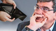 Los números 'rojos' de Escrivá: más de 150 euros de cada pensión procede ya de la deuda pública