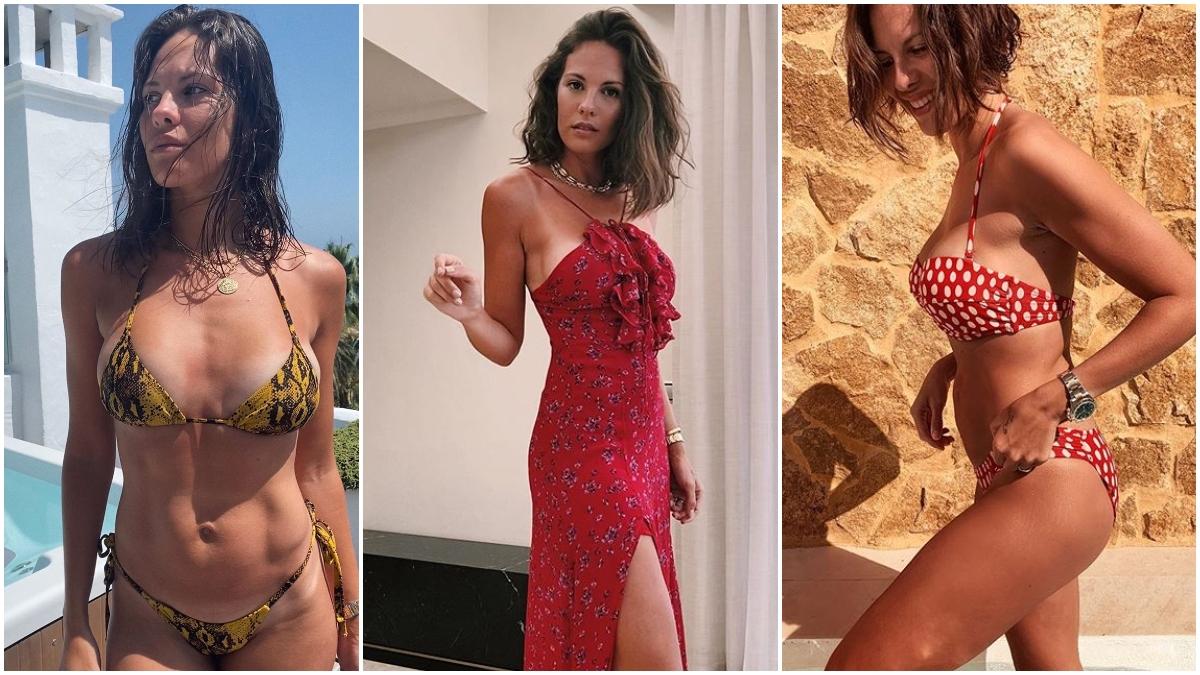Jessica Bueno, en fotos de Instagram.