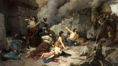 Cuadro de 1881 de Alejo Vera por la batalla de Numancia
