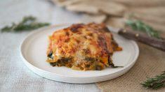 Práctica receta para inexpertos: lasaña de espinacas y mejillones