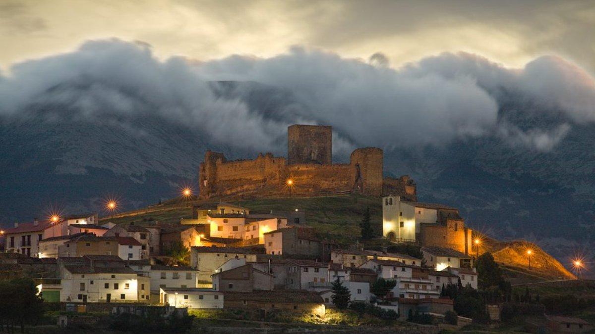 El pueblo de Trasmoz en Zaragoza